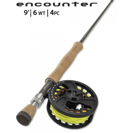 Encounter 6-Weight 9' Fly Rod Outfit