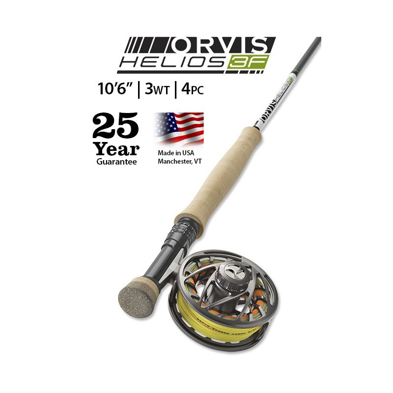 "Helios 3F 3-Weight 10'6"" Fly Rod"