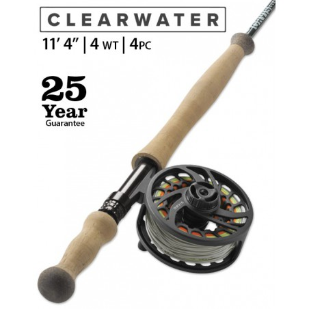 "Clearwater 4-Weight 11'4"" Fly Rod"