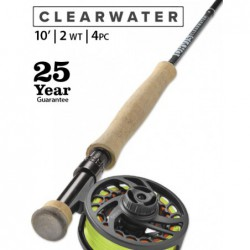 Clearwater 2-Weight 10' Fly Rod