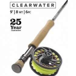 Clearwater 8-Weight 9' 6-Piece Fly Rod