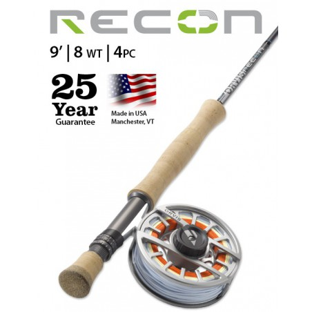 Recon 8-Weight 9' 4-Piece Fly Rod