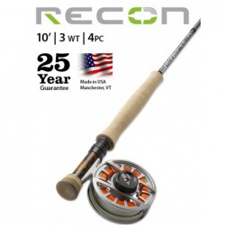 Recon 3-Weight 10' 4-Piece Fly Rod