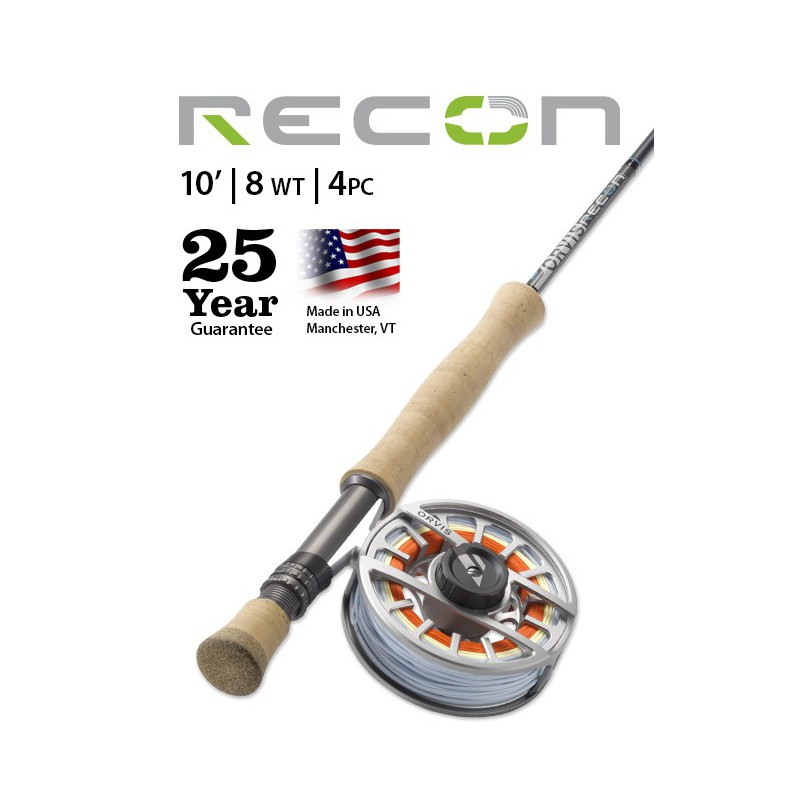 Recon 8-Weight 10' 4-Piece Fly Rod