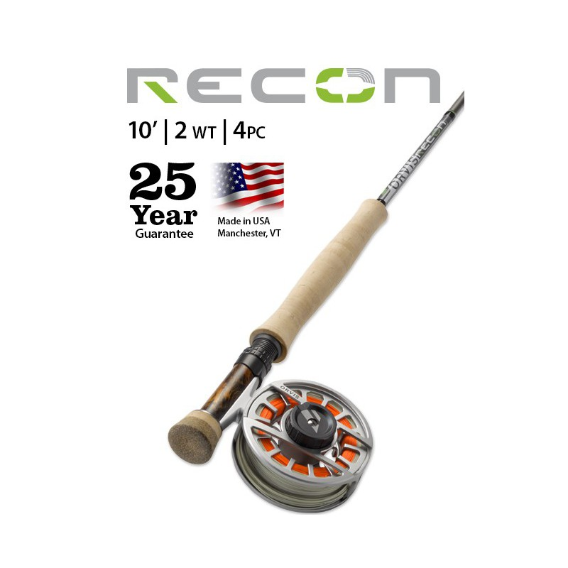 Recon 2-Weight 10' 4-Piece Fly Rod