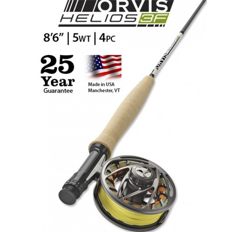 "Helios 3F 5-Weight 8'6"" Fly Rod"