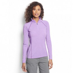 Women's drirelease Long-Sleeved Quarter-Zip Tee