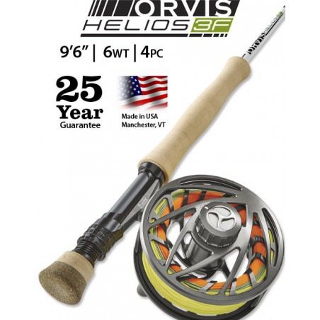 "Helios 3F 6-Weight 9'6"" Fly Rod"