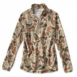drirelease Camo Quarter-Zip Casting Shirt