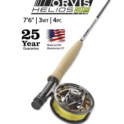 """Helios 3F 3-Weight 7'6"""" Fly Rod"""