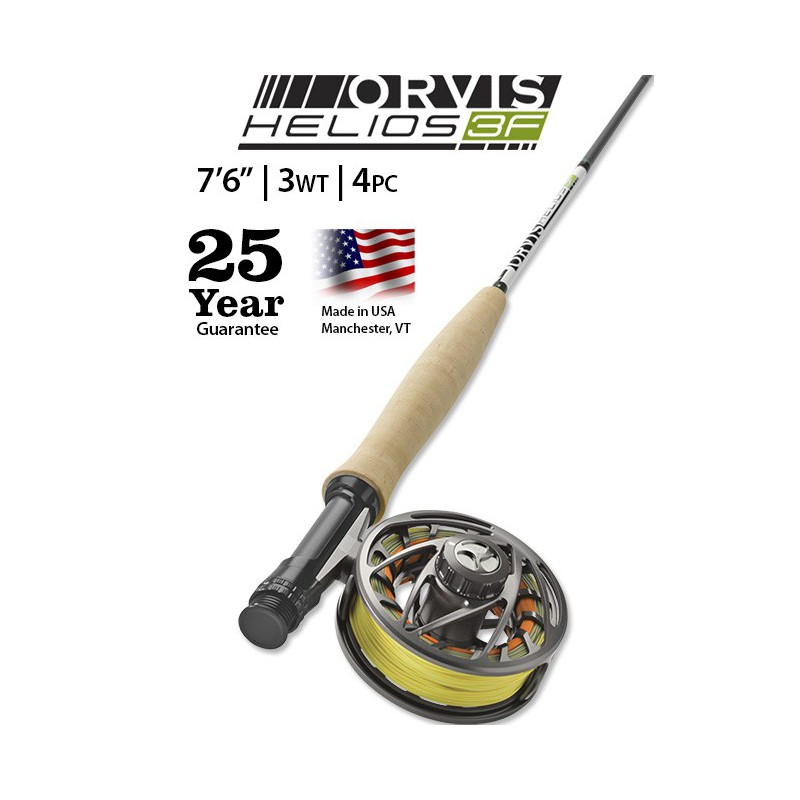 "Helios 3F 3-Weight 7'6"" Fly Rod"