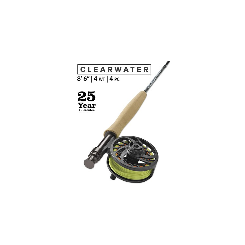 """Clearwater 4-Weight 8'6"""" Fly Rod"""