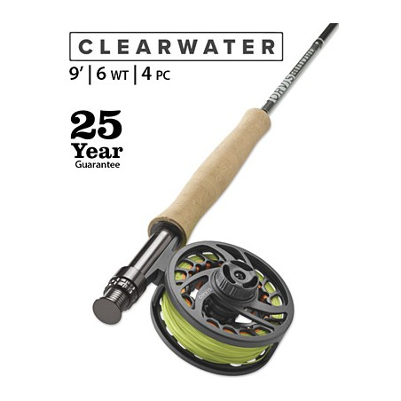 Clearwater 6-Weight 9' Fly Rod