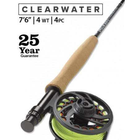 """Clearwater 4-Weight 7'6"""" Fly Rod"""