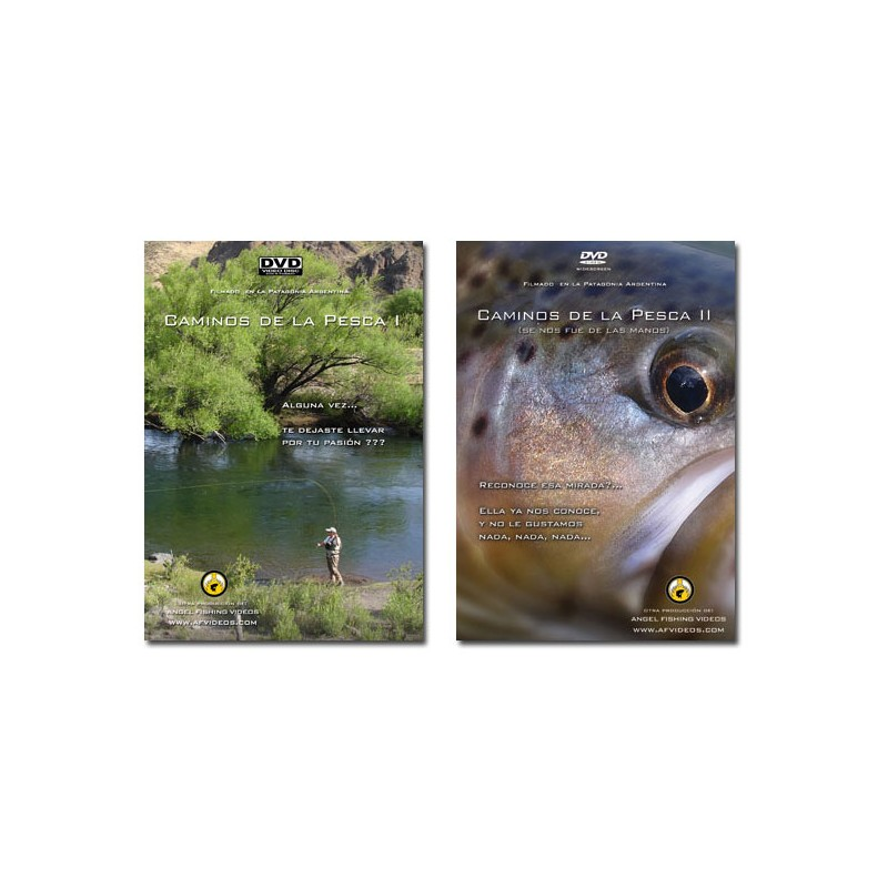 """Combo """"Fly Fishing Paths"""" - 2 DVDs"""