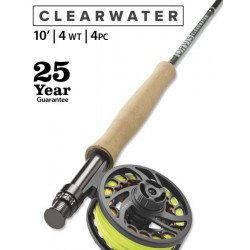 Clearwater 4-Weight 10' Fly Rod