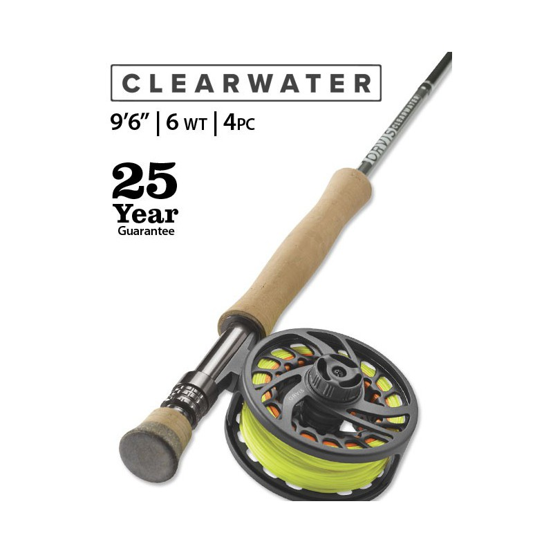 "Clearwater 6-Weight 9'6"" Fly Rod"
