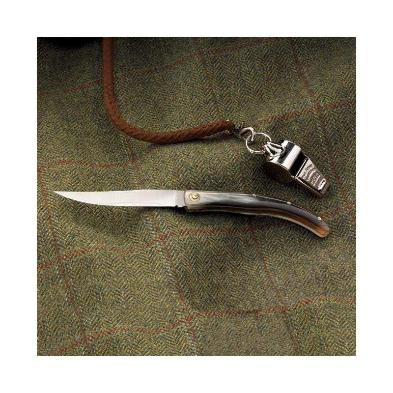 Gentleman's Horn-handled Folder Knife
