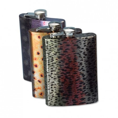 Trout Skin Flask