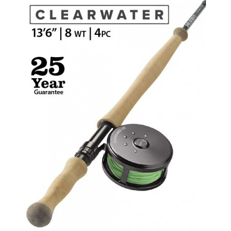 """Clearwater 8-Weight 13'6"""" Fly Rod"""