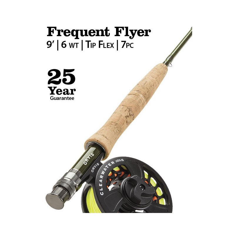 Clearwater Frequent Flyer 6-weight 9' Fly Rod