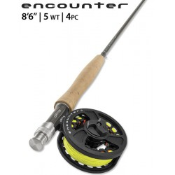"Encounter 5-weight 8'6"" Fly Rod Outfit"