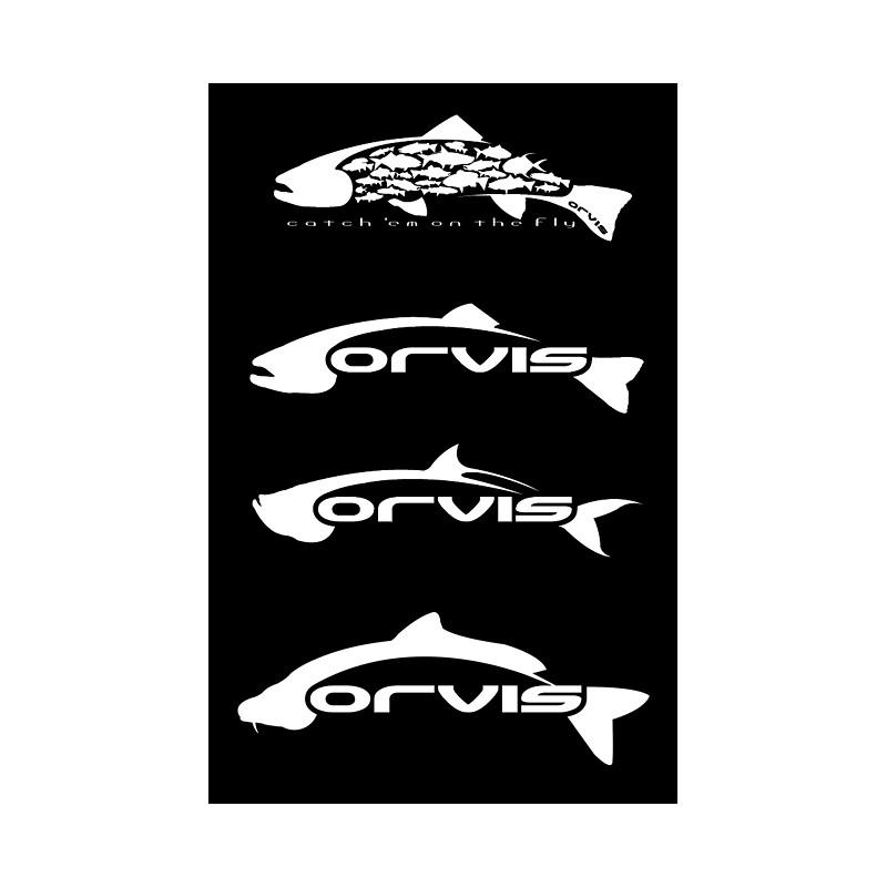 Orvis Fish Stickers