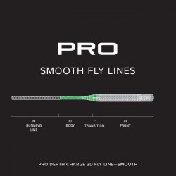PRO Depth Charge 3D Fly Line-Smooth