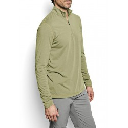 Men's drirelease Long-Sleeved Zipneck Casting Shirt