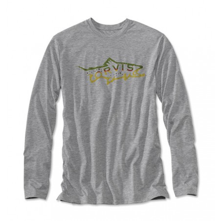 Men's Orvis Brown Trout drirelease Long-Sleeved T-Shirt