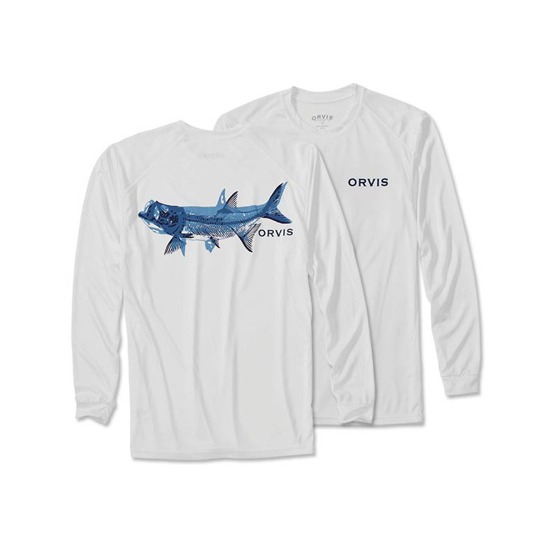 Tarpon Bones Long-Sleeved Tech T-Shirt