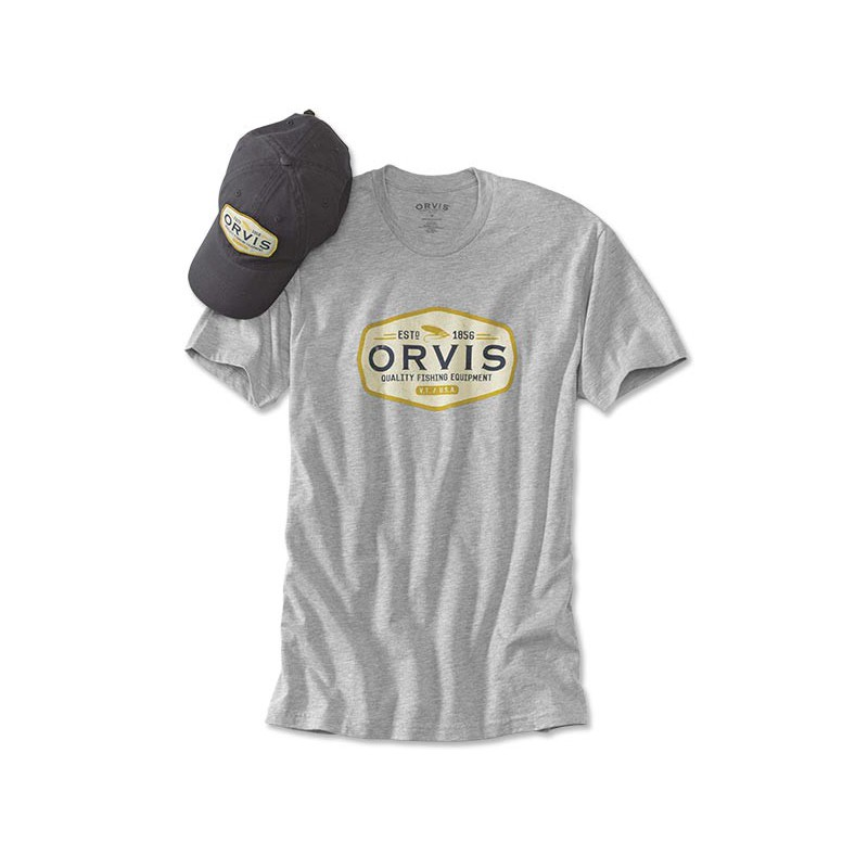 Gray Ghost Hat and T-Shirt Bundle
